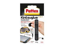 Pattex Kintsuglue Flexible Knete schwarz 3X5g