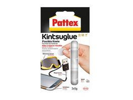 Pattex Kintsuglue Flexible Knete weiss 3X5 g