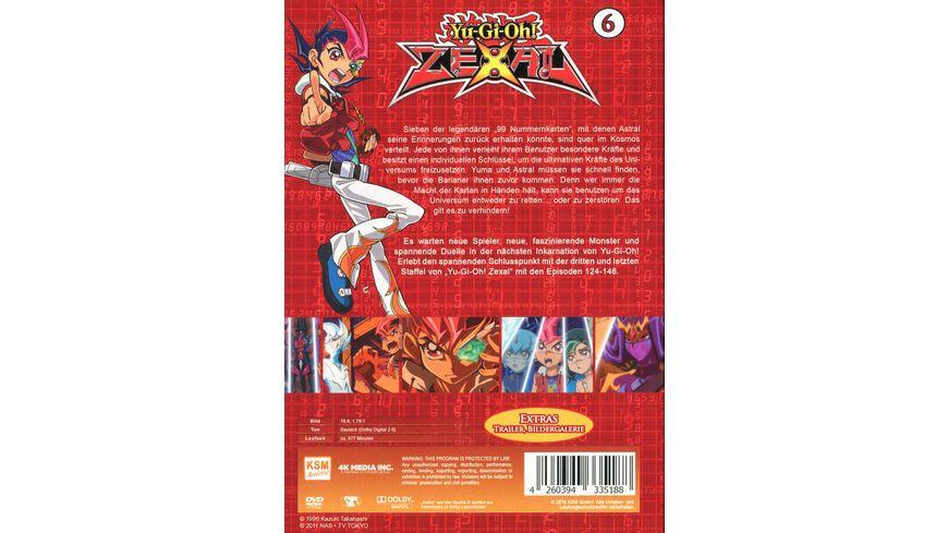 Yu Gi Oh Zexal Staffel 3 2 Episode 124 146 5 DVDs