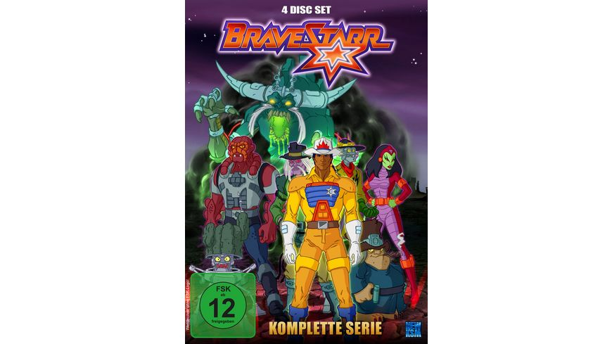 Bravestarr Gesamtbox inkl Legende New Edition 4 DVDs