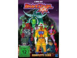 Bravestarr Gesamtbox inkl Legende New Edition 4 DVDs
