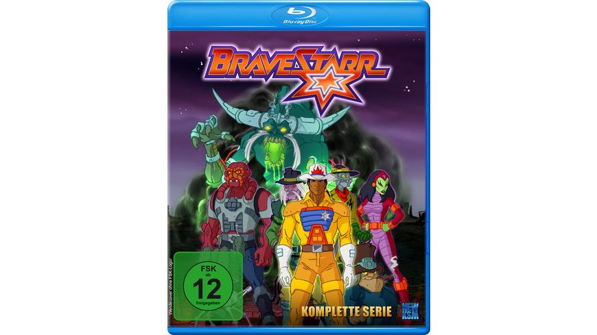 Bravestarr Gesamtbox inkl Legende New Edition