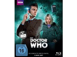 Doctor Who Die komplette 2 Staffel Folge 14 26 Pilotfilm Limited Edition 5 BRs