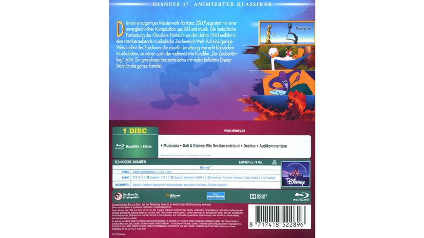 Fantasia 2000 Disney Classics