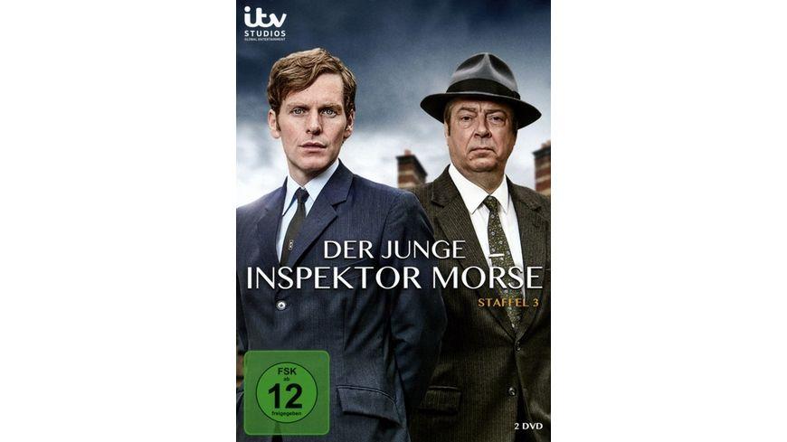Der junge Inspektor Morse Staffel 3 2 DVDs