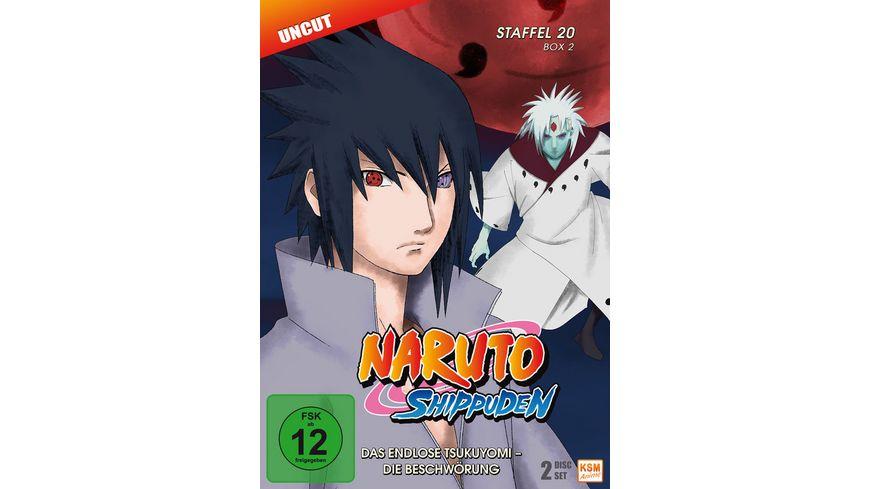 Naruto Shippuden Das endlose Tsukuyomi Die Beschwoerung Staffel 20 2 Folgen 642 651 Uncut 2 DVDs