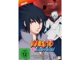 Naruto Shippuden Das endlose Tsukuyomi Die Beschwoerung Staffel 20 2 Folgen 642 651 2 DVDs
