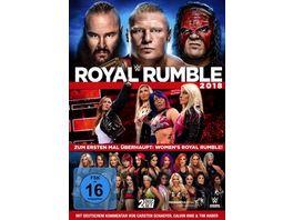 Royal Rumble 2018 2 DVDs
