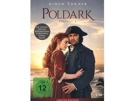 Poldark Staffel 3 Limited Edition 4 DVDs