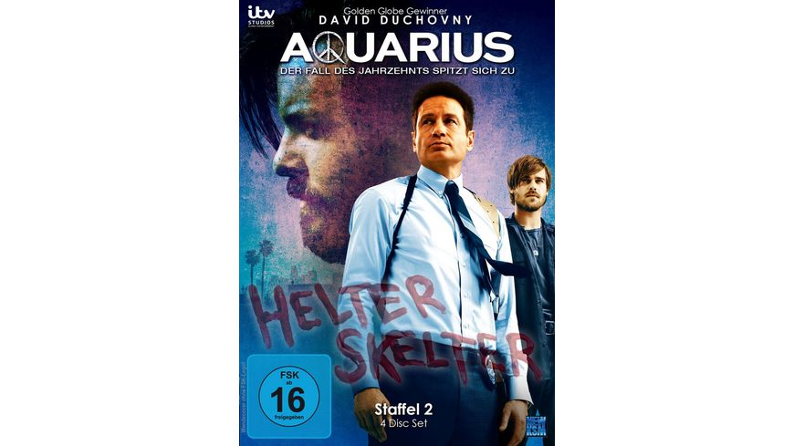 Aquarius Staffel 2 Episode 01 13 4 DVDs