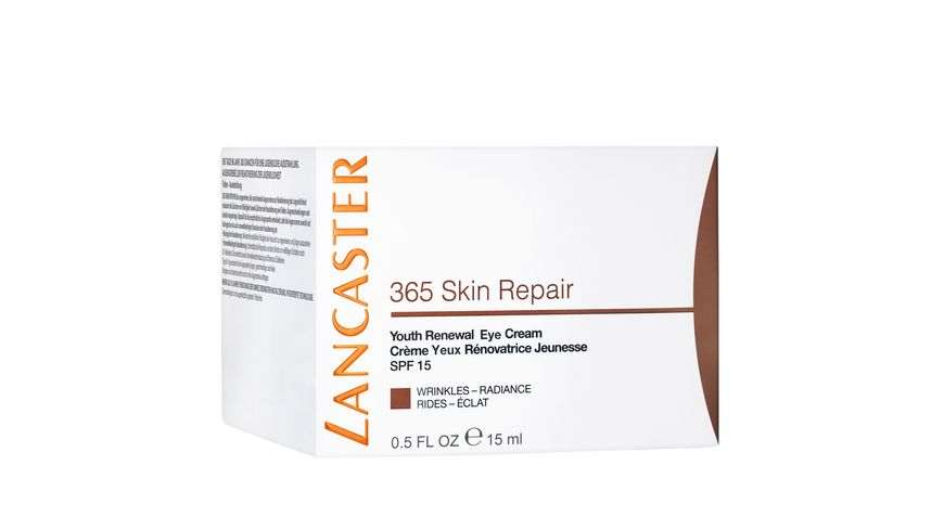 LANCASTER 365 Skin Repair Youth Renewal Eye Cream SPF 15