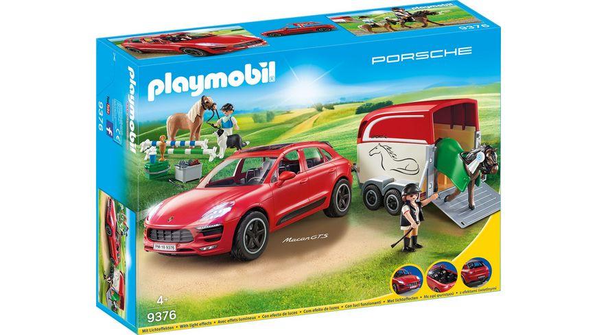 PLAYMOBIL 9376 Sport und Action Porsche Macan GTS