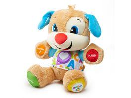 Fisher Price Lernspass Huendchen Baby Spielzeug mit Musik Kuscheltier Lernspielzeug