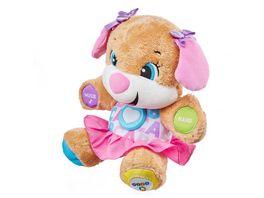 Fisher Price Lernspass Hundefreundin Baby Spielzeug Kuscheltier Lernspielzeug