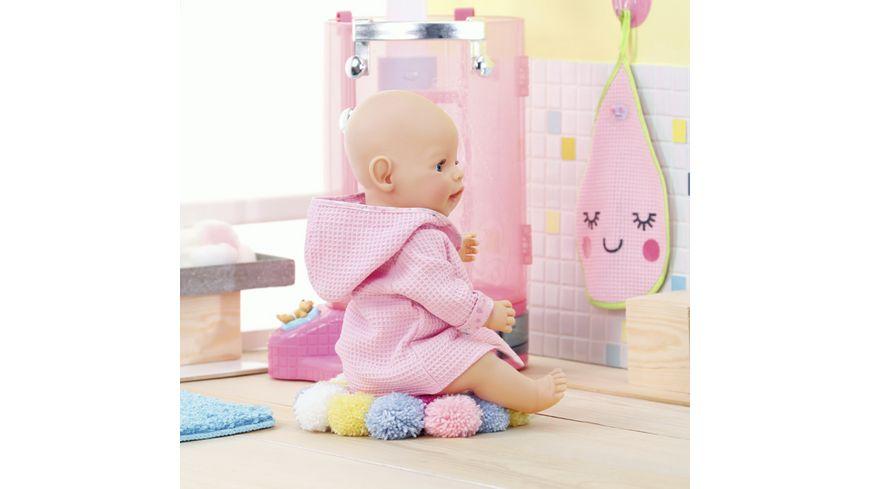 Zapf Creation BABY born Bademantel inklusive Kleiderbuegel