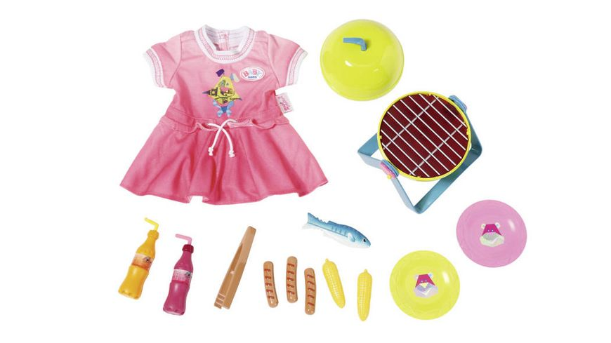 Zapf Creation BABY born Play Fun Grillspass Set