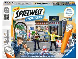 Ravensburger tiptoi mini Spielwelt Polizei Verkehrspolizei