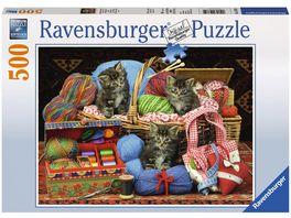 Ravensburger Puzzle Flauschiges Vergnuegen 500 Teile