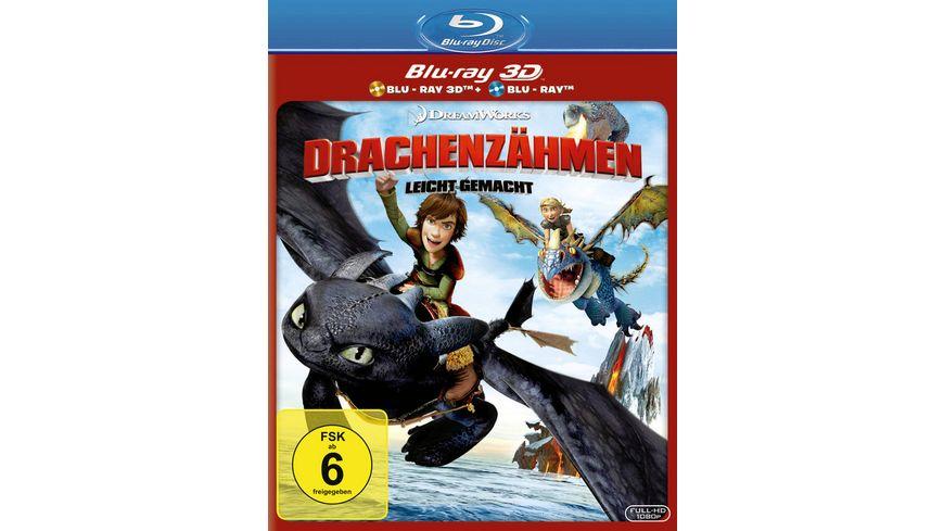 Drachenzaehmen leicht gemacht Blu ray 2D