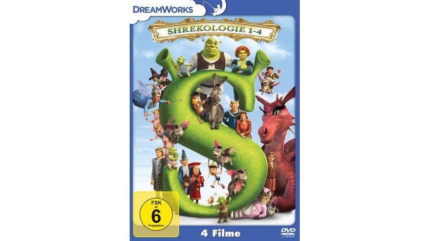 Shrekologie 1 4 4 DVDs