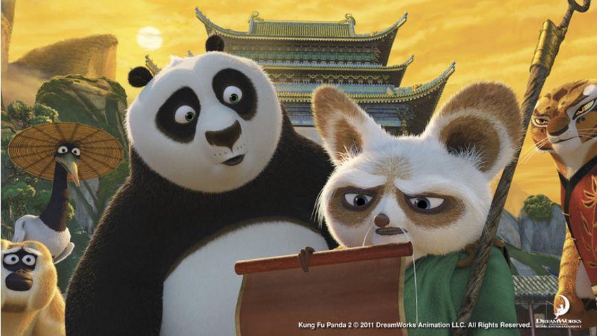 Kung Fu Panda 2 Blu ray 2D