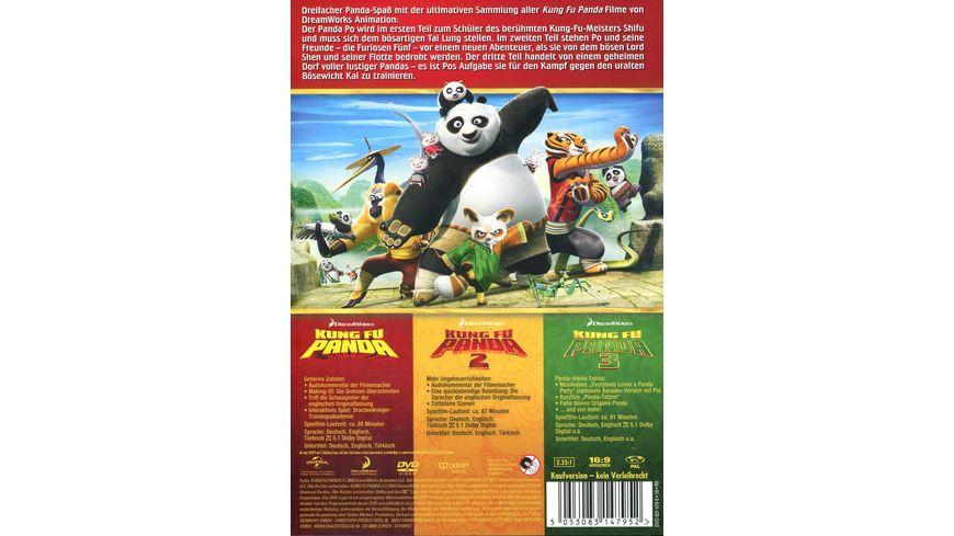 Kung Fu Panda 1 3 3 DVDs
