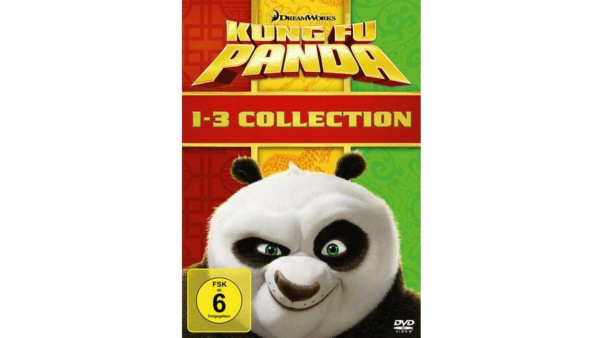 Kung Fu Panda 1-3  [3 DVDs]