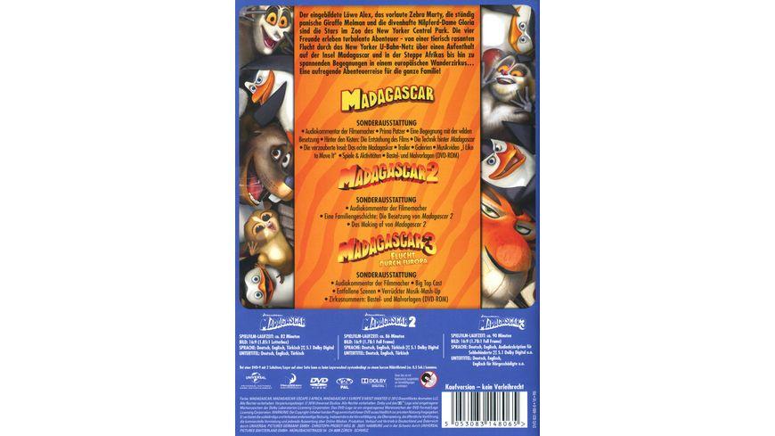 Madagascar 1 3 3 DVDs