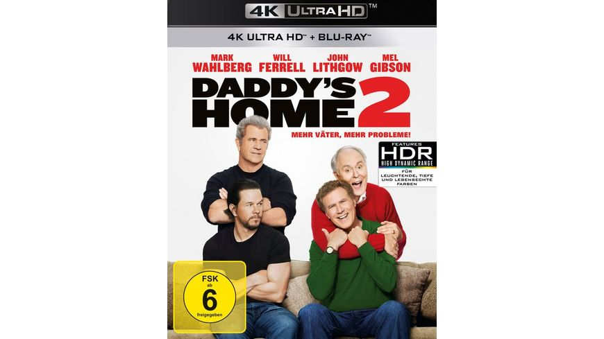 Daddy s Home 2 Mehr Vaeter mehr Probleme 4K Ultra HD Blu ray 2D