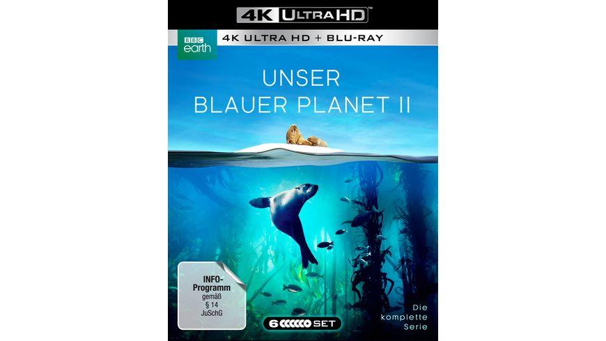 UNSER BLAUER PLANET II Die komplette ungeschnittene Serie zur ARD Reihe Der blaue Planet 3 Blu ray 4K Ultra HD 3 Blu ray 2D