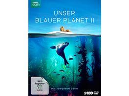 UNSER BLAUER PLANET II Die komplette ungeschnittene Serie zur ARD Reihe Der blaue Planet 3 DVDs