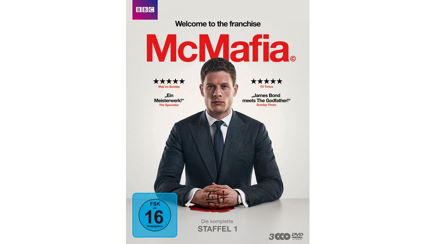 McMafia Staffel 1 3 DVDs