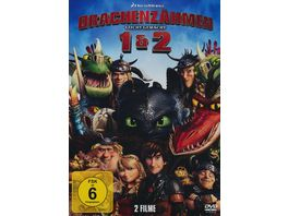 Drachenzaehmen leicht gemacht 1 2 2 DVDs