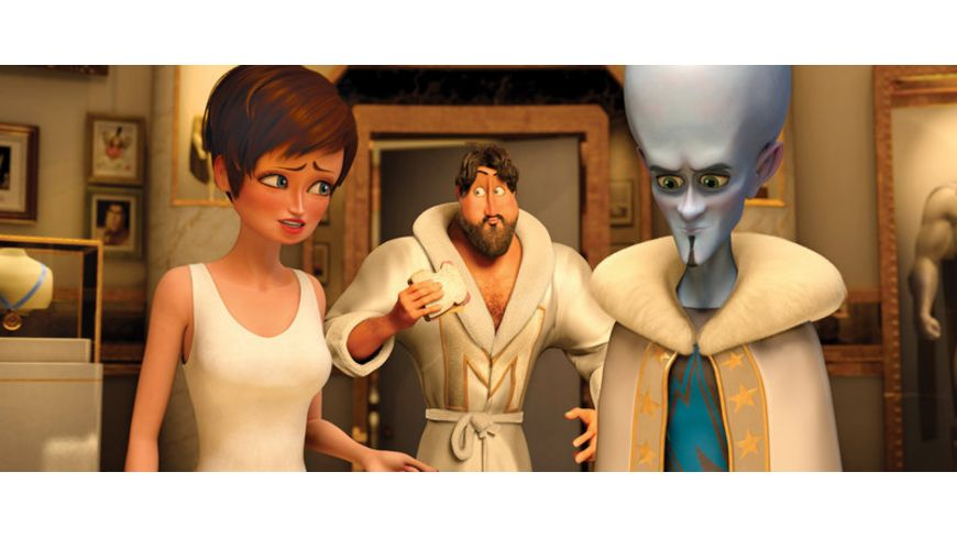Megamind Blu ray 2D