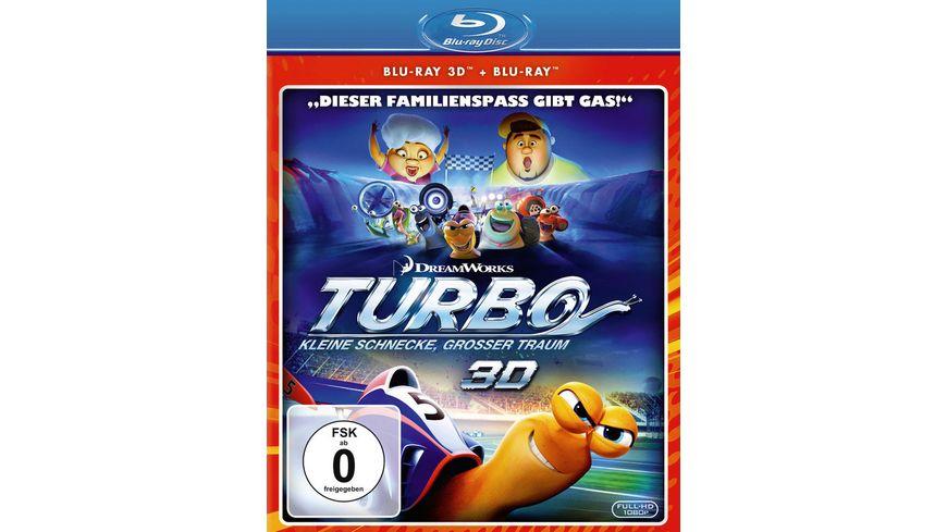 Turbo Kleine Schnecke grosser Traum Blu ray 2D