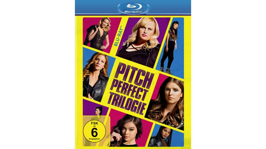 Pitch Perfect Trilogy 3 BRs