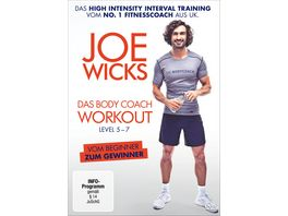 Joe Wicks Das Body Coach Workout Level 5 7 HIIT High Intensity Interval Training