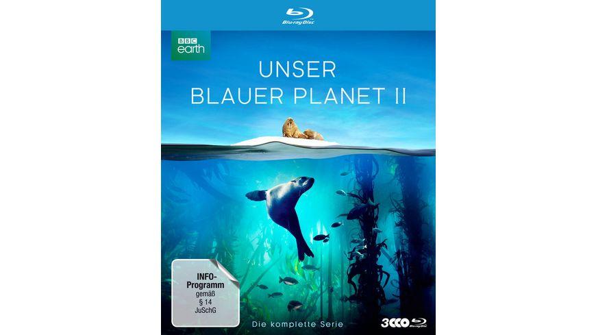 UNSER BLAUER PLANET II Die komplette ungeschnittene Serie zur ARD Reihe Der blaue Planet 3 BRs