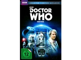 Doctor Who Fuenfter Doktor Erdstoss Limitiertes Mediabook Collector s Edition 2 DVDs