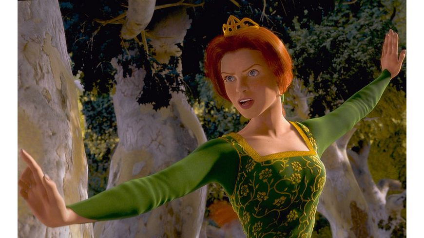 Shrek Der tollkuehne Held Blu ray 2D