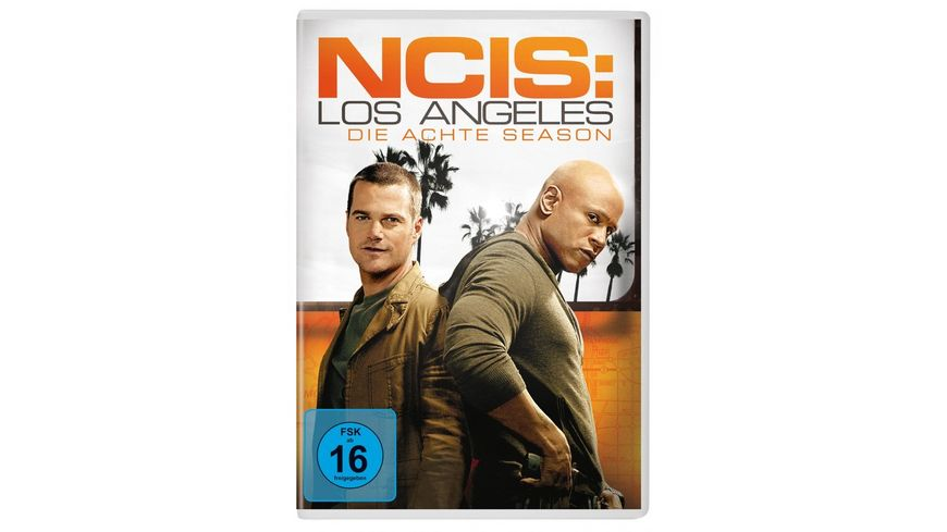 NCIS Los Angeles Season 8 6 DVDs
