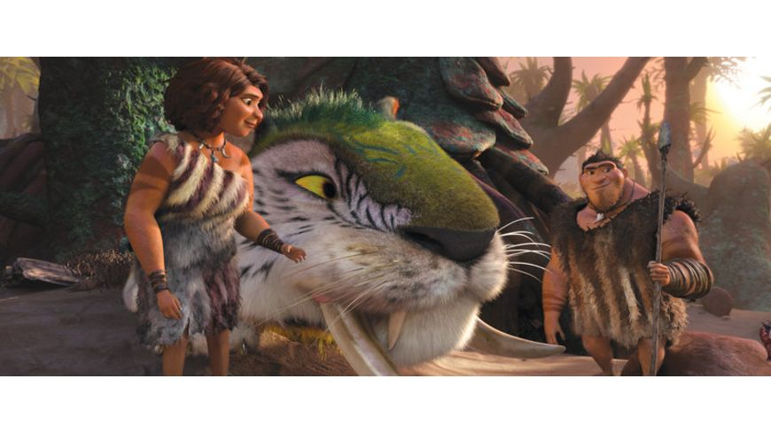 Die Croods Blu ray 2D DVD