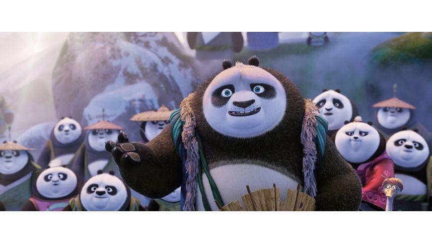 Kung Fu Panda 3 Blu ray 2D