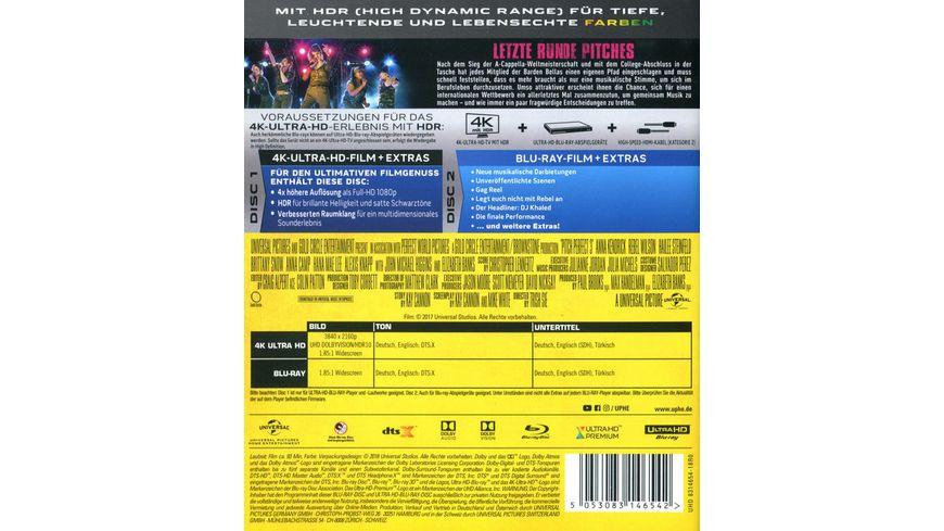 Pitch Perfect 3 4K Ultra HD Blu ray 2D