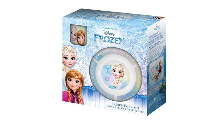 p os Kinder Geschirrset Frozen