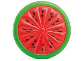 Intex Badeinsel Wassermelone 183 x 23 cm