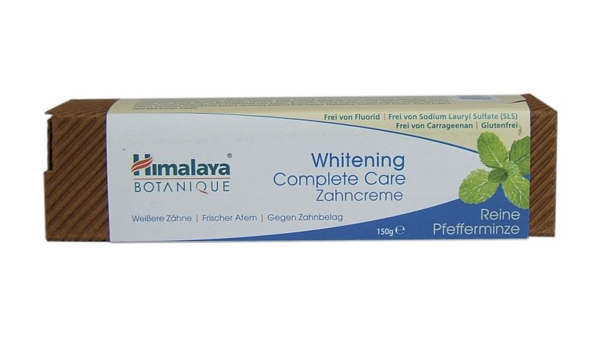 Himalaya Botanique Whitening Complete Care Peppermint