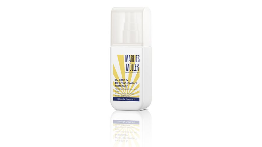 MARLIES MOeLLER uv light pollution protect hairspray