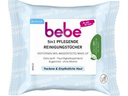 bebe 5in1 Pflegende Reinigungstuecher Mini Format