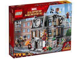LEGO Marvel Super Heroes 76108 Sanctum Sanctorum Der Showdown